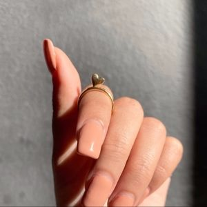 Jewelry - NEW Gold Heart Midi Ring - 4 for $20